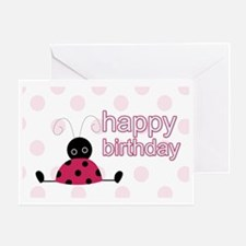 Little Ladybug Birthday Yard Sign Greeting Card
