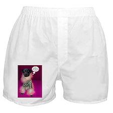 Black Lab Leopard Boxer Shorts