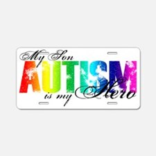 son Aluminum License Plate