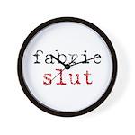 Fabric Slut - Sewing Wall Clock