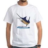 Cabo fishing Mens White T-shirts
