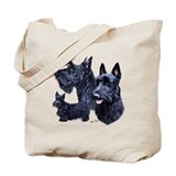 Scottie Canvas Totes