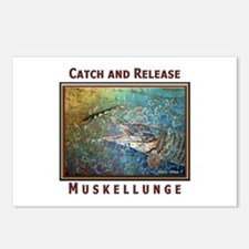 Muskellunge<br>Postcards (Package of 8)