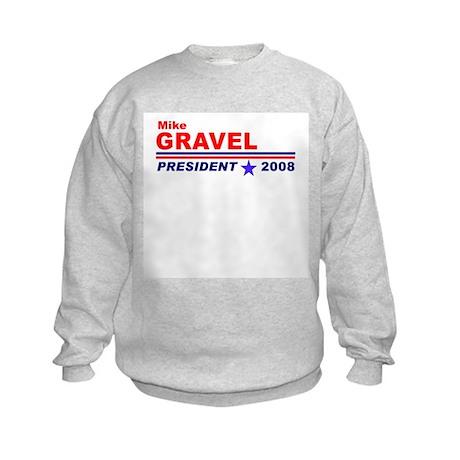 Mike Gravel Kids Sweatshirt