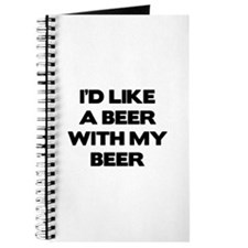 I'd Like A Beer With My Beer Journal