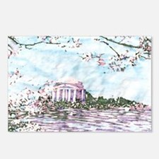 Cherry Blossoms: Jefferso Postcards (Package of 8)