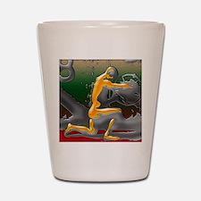 Greg Eight Modern Digital Art 16 x 20 e Shot Glass