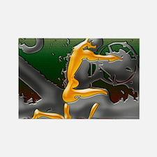 Greg Eight Modern Digital Art 16  Rectangle Magnet