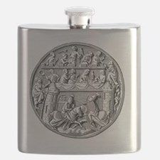 Prize of the Tournament from Lid in Ivory l Flask