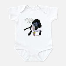 Black Lab Scientist Infant Bodysuit