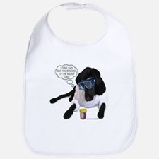 Black Lab Scientist Bib