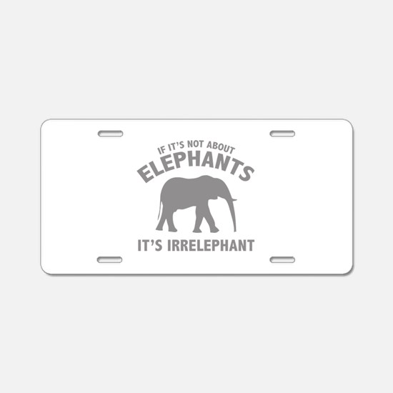 If It's Not About Elephants. It's Irrelephant. Alu