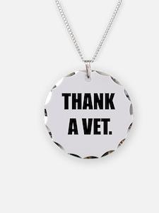 Thank a Vet Necklace