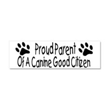 Parent of Canine Good Citizen Car Magnet 10 x 3