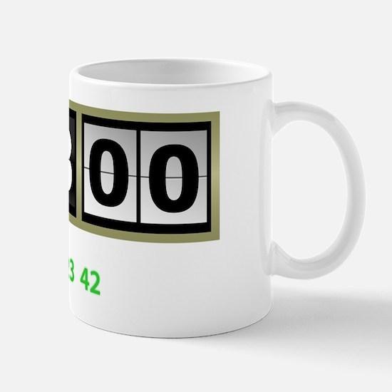 Lost-108-minutes-and-numbers-(dark) Mug