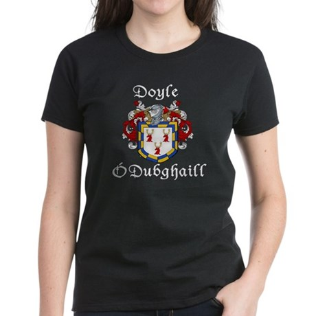 Doyle In Irish & English Women's Dark T-Shirt