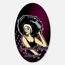 Natural Hair Queen Decal