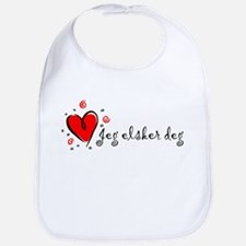 """I Love You"" [Norwegian] Bib"