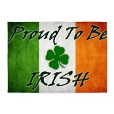 irish_flag_banner_2w 5'x7'Area Rug