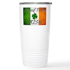 irish_flag_banner_2w Travel Mug