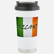 irish_flag_banner_4w Travel Mug