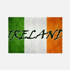 irish_flag_banner_4w Rectangle Magnet