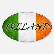 irish_flag_banner_4w Decal