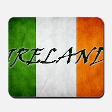 irish_flag_banner_4w Mousepad