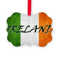 irish_flag_banner_4w Ornament