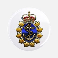 CF Naval Operations Command Logo 3.5&Quot; Button