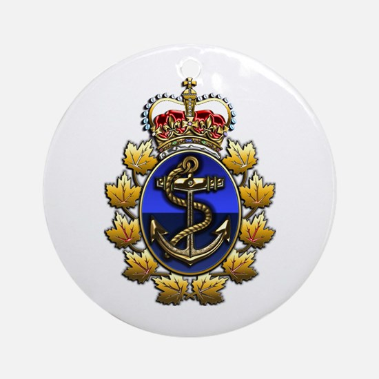 CF Naval Operations Command Logo Ornament (Round)