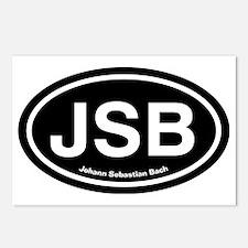 JSBdark Postcards (Package of 8)