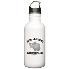 Your Argument Is Irrelephant Sports Water Bottle
