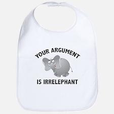 Your Argument Is Irrelephant Bib