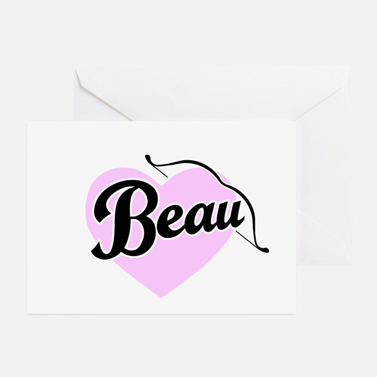 Beau Greeting Cards (Pk of 10)