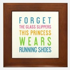 Unique Princess sayings Framed Tile