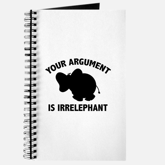 Your Argument Is Irrelephant Journal
