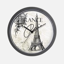 Heather Myers BELLA FIORE Paris France Wall Clock