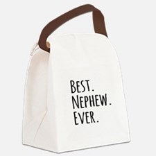 Best Nephew Ever Canvas Lunch Bag