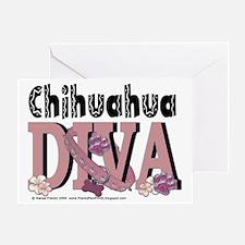 Chihuahua_Diva Greeting Card