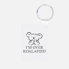 I'm Over Koalafied Keychains