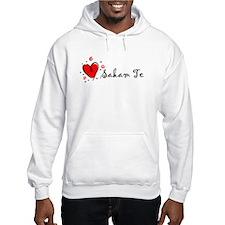 """I Love You"" [Macedonian] Hoodie"