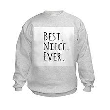 Best Niece Ever Sweatshirt