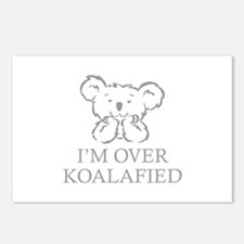 I'm Over Koalafied Postcards (Package of 8)