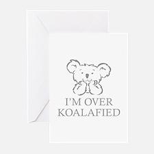 I'm Over Koalafied Greeting Cards (Pk of 20)