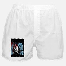 tshirtfirstfridaycolorblue copy Boxer Shorts