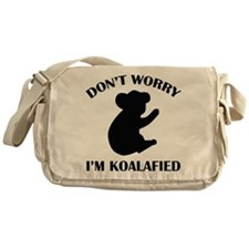 Don't Worry I'm Koalafied Messenger Bag