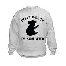 Don't Worry I'm Koalafied Sweatshirt