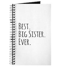 Best Big Sister Ever Journal