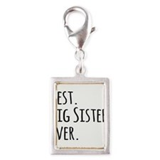 Best Big Sister Ever Charms